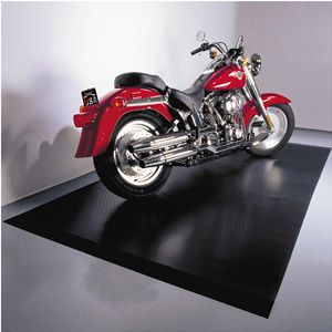 Better Life Technology G-Floor 5' x 10' Motorcycle Mat, Black