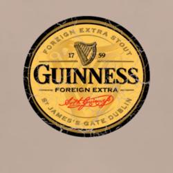 Guiness Beer Logo Distressed Vintage T Shirt Www Damncoolteez Com Guiness Beer Logo Guiness Beer Beer Logo