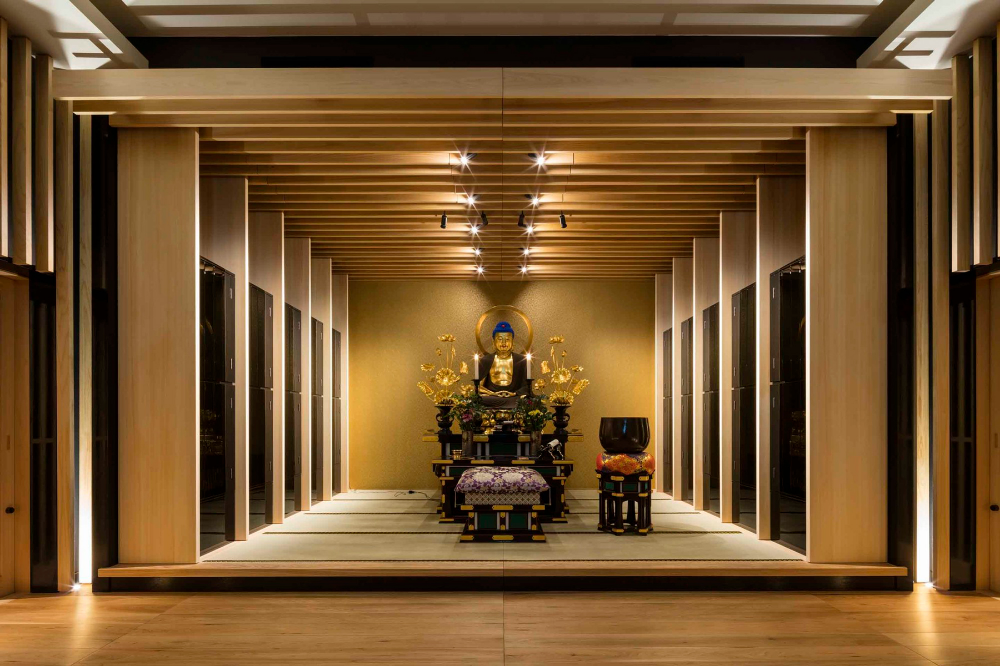 An Ihaidō Designed To Modernize A 1316 Year Old Buddhist Temple In