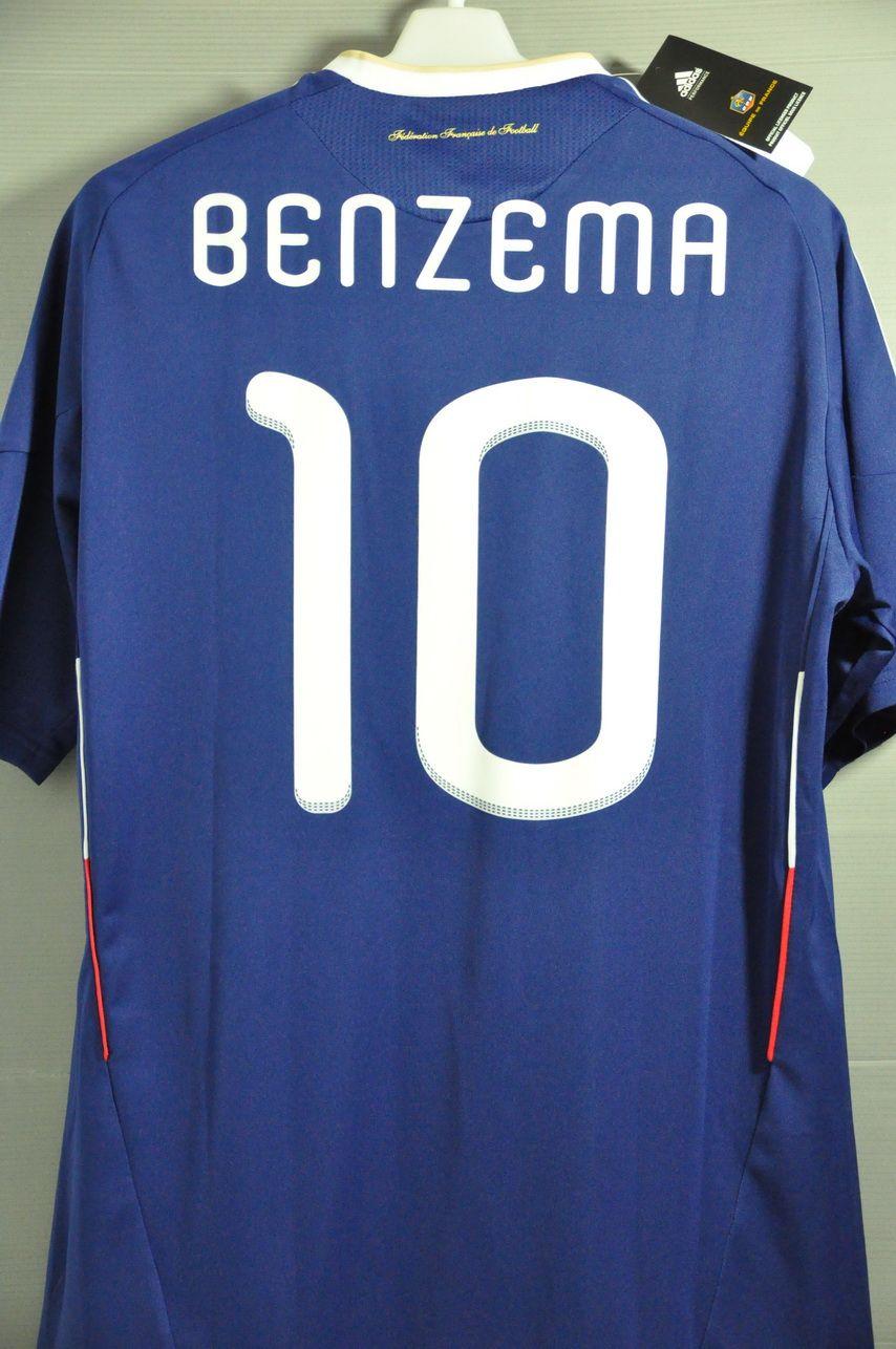 best loved c322a 33c68 France BENZEMA National Football Team Jersey Shirt World Cup ...