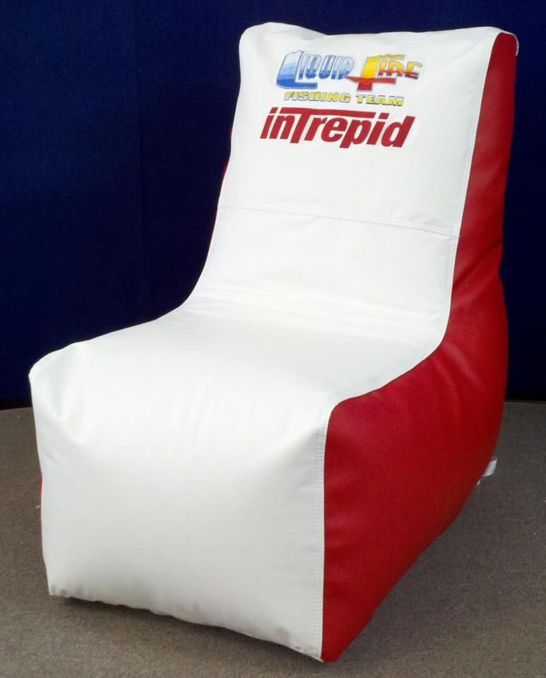 Ocean Tamer Wedge Marine Bean Bag With A Custom Intrepid