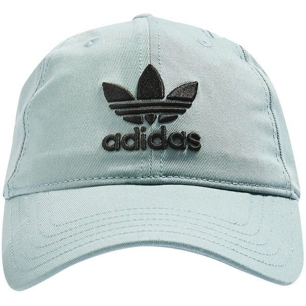 Trefoil Cap by Adidas Originals ( 19) ❤ liked on Polyvore featuring  accessories 2db378e5c1f