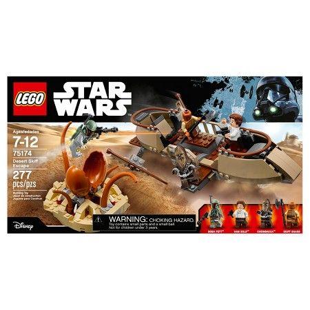 LEGO® Star Wars™ Desert Skiff Escape 75174 : Target | Wish list ...