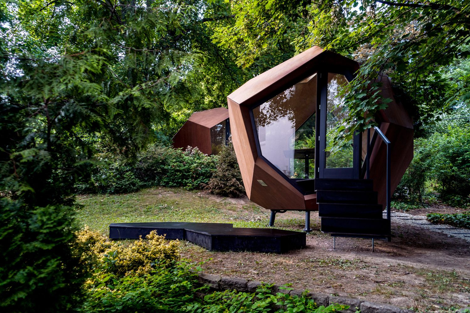 Gallery of Workstation Cabin / Hello Wood - 5