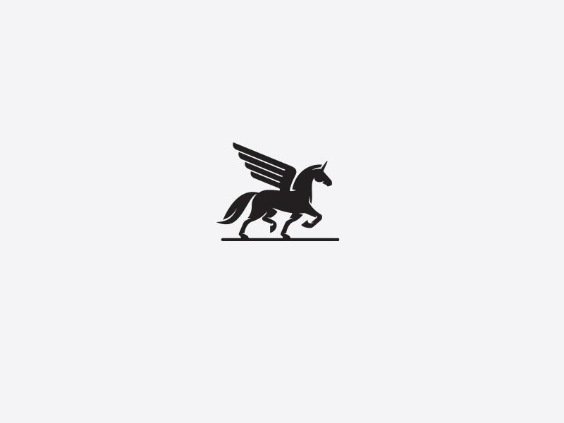 Winged Unicorn 2 Logo Pinterest Unicorns Logos And Logo Branding