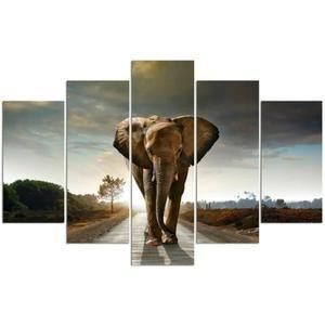 cadre elephant cdiscount tableau elephant achat vente tableau elephant pas cher les - Cadre Elephant