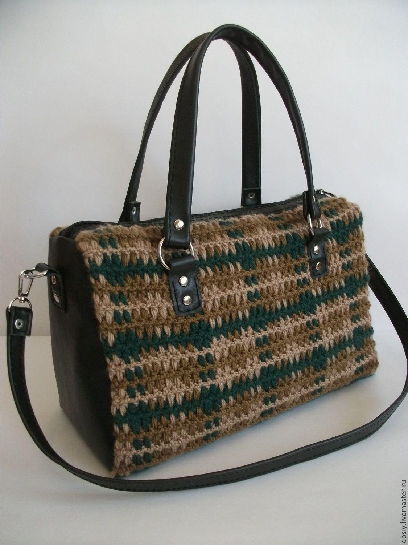 9efdd56f4e77 Купить или заказать вязаная сумка-сакваяж
