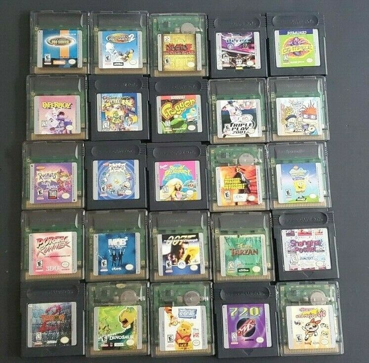 Nintendo Gameboy Color Gbc Gba Sp Games Pick Choose What You Need Have Fun In 2020 Gameboy Gba Color Games