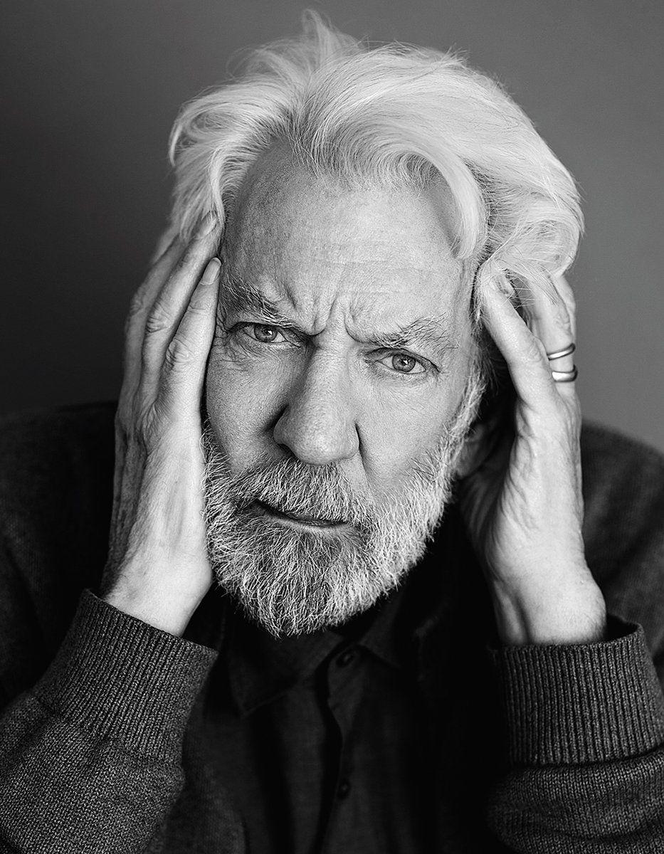 Biography.com on Twitter | Donald sutherland, Portrait ...