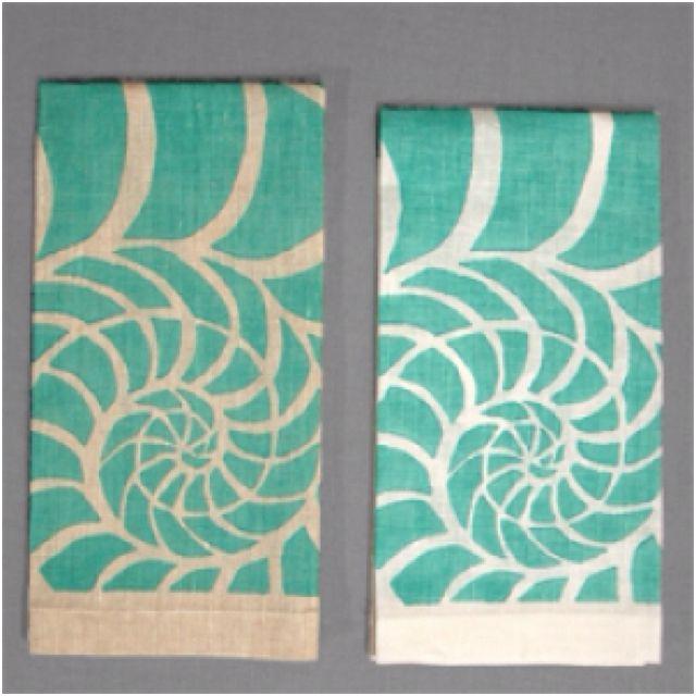 Nautical Guest Towels: Love These Fabulous Hand Towels! Desmond Peterson Blue