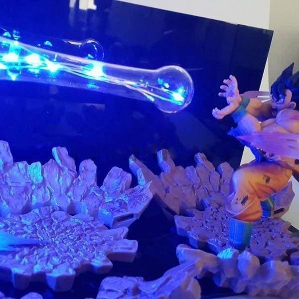 Lampe Dbz Goku Kamehameha Goku Dbz Kamehameha