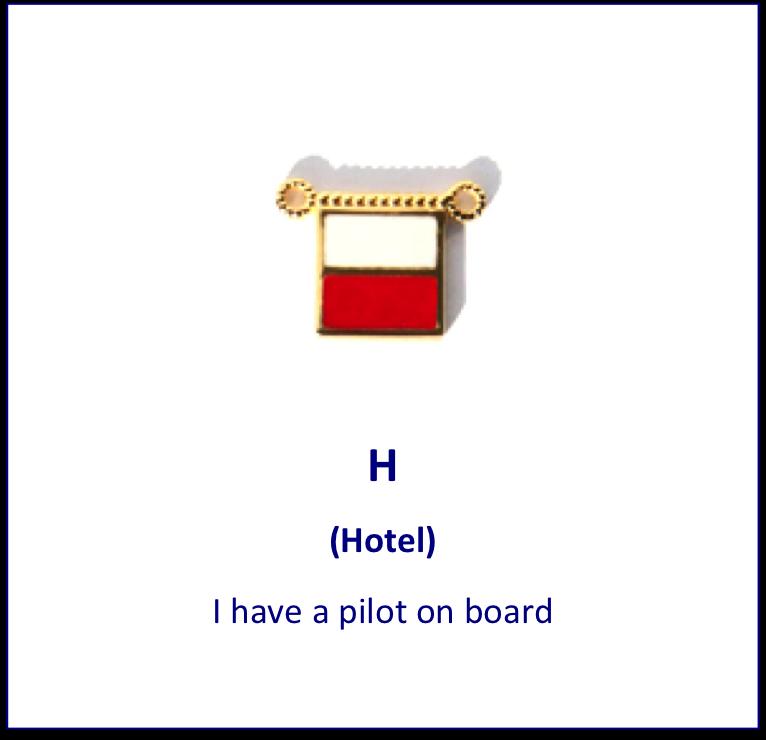 H Hotel Signal Flag Charm Signal Flags Flag Charm Flag Alphabet