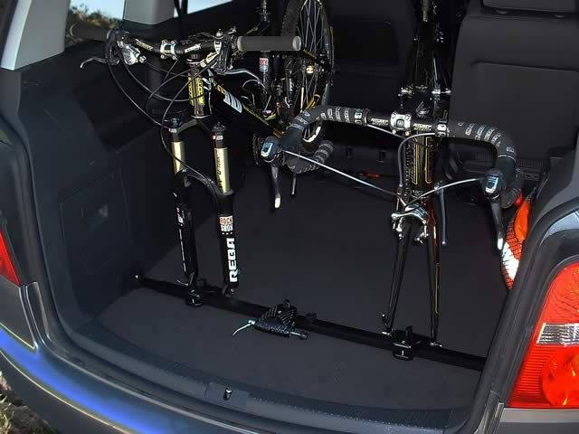 Bikeinside Interior Bicycle Rack Van Against Driving Direction A