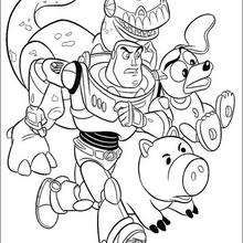 Toy Story coloring book pages : 53 free Disney printables for kids ...