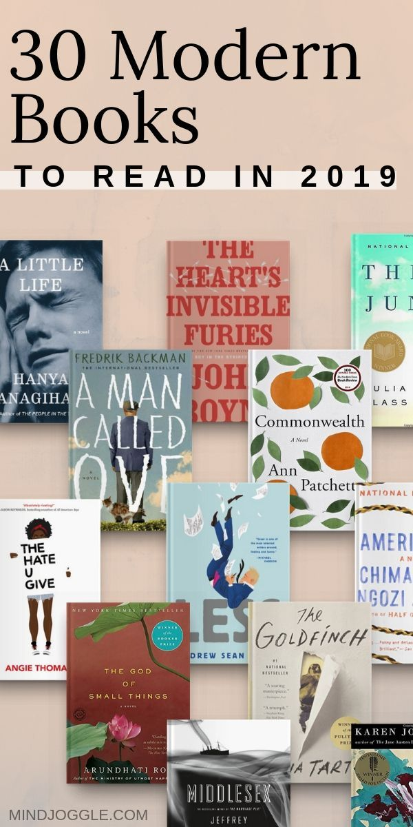 30 Contemporary Fiction Novels for Your Book Bucket List #bookstoread