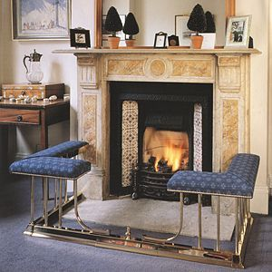 fireplace fenders with seats   4702 Seat Fender, Seat Fender, New ...