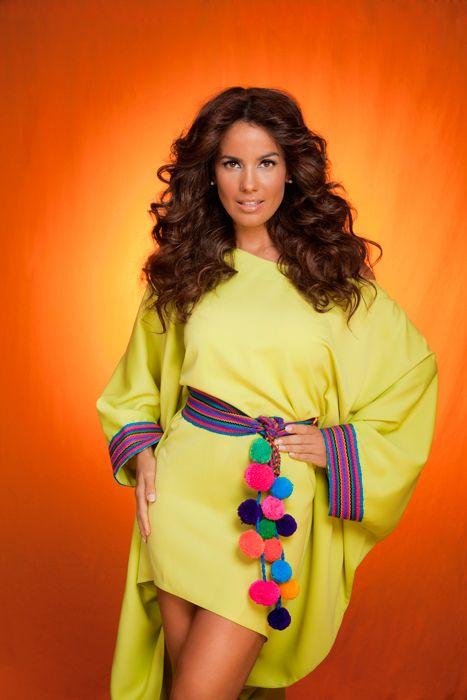 New Manta Guajira D Colombian Style Vestidos Bordados