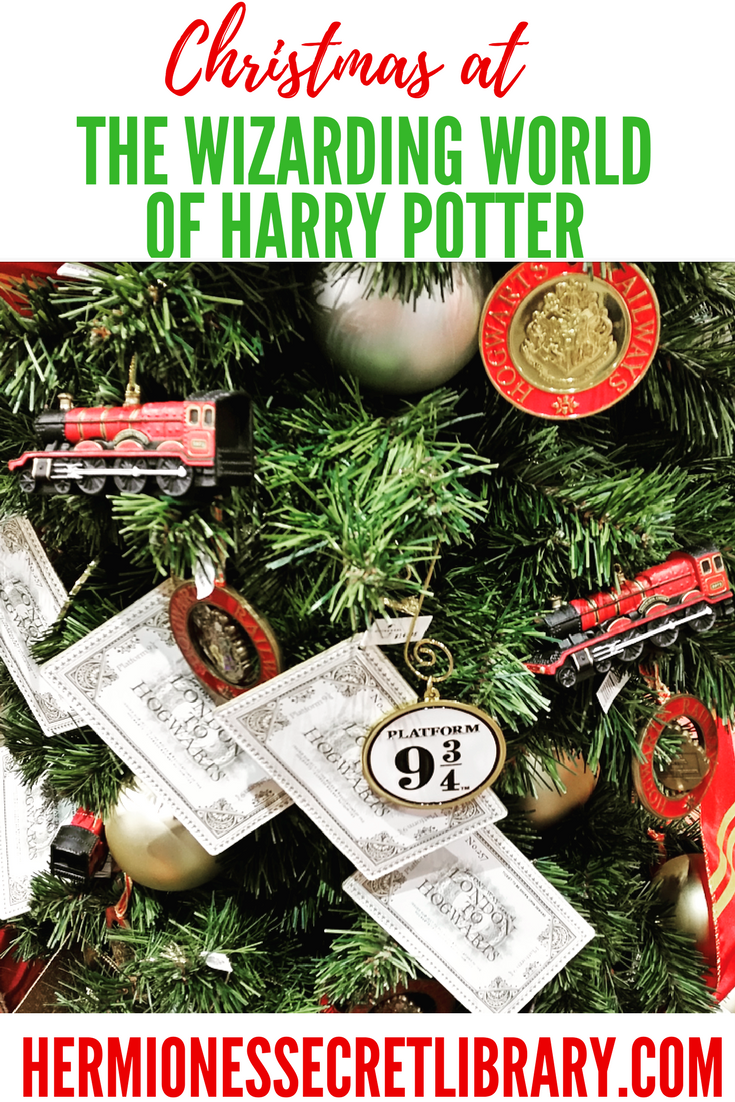 Harry Potter Christmas Ornaments Universal Studios.Christmas At The Wizarding World Of Harry Potter Harry