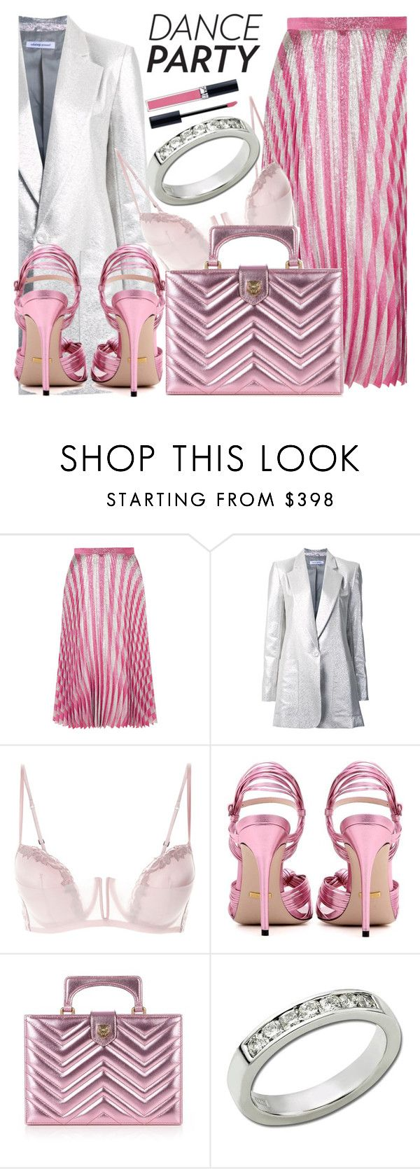 """""""Anastazio-dance party"""" by anastazio-kotsopoulos ❤ liked on Polyvore featuring Gucci, Bianca Spender, Anastazio and Christian Dior"""