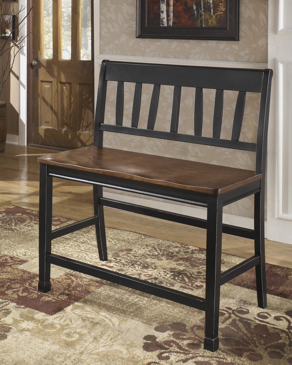 Ashley Owingsville Double Counter Stool Counter Height Dining