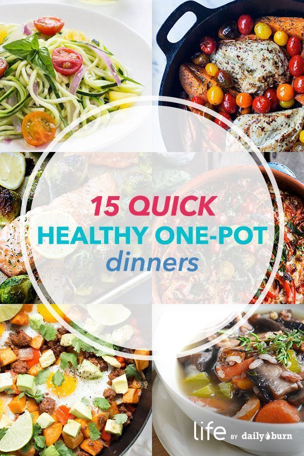 15 One-Pot Meals for Quick, Healthy Dinners images