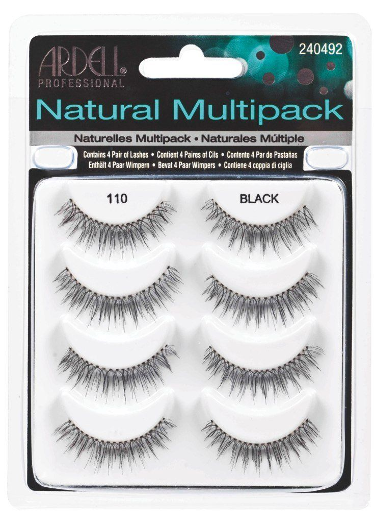 fd9559bc901 Amazon.com : Ardell Multipack 110 Fake Eyelashes : Fake Eyelashes And  Adhesives : Beauty