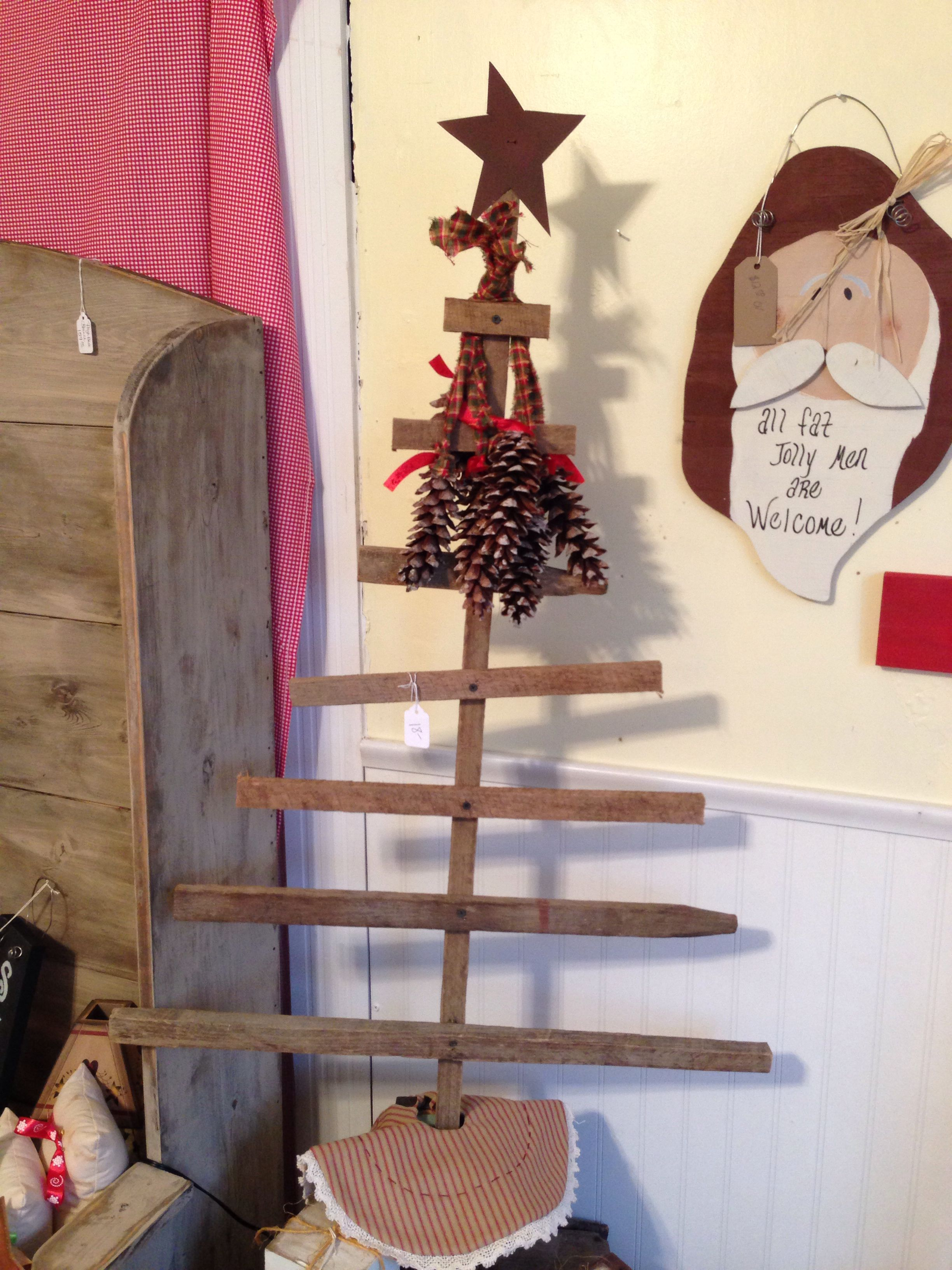 Tobacco Stick Tree Tobacco Sticks Stick Christmas Tree Wooden Christmas Trees