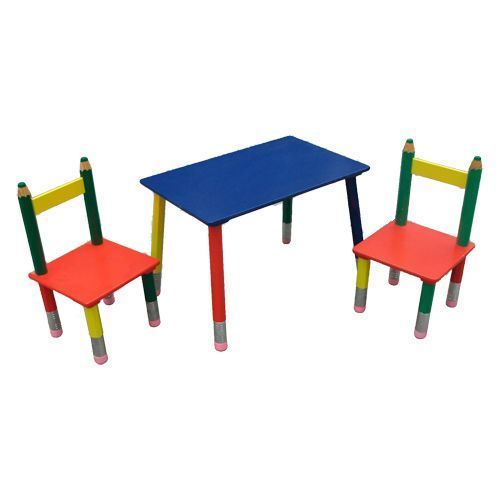 Childs Pencil Table u0026 Chair Set - Rober Dyas  sc 1 st  Pinterest & Childs Pencil Table u0026 Chair Set - Rober Dyas | Stuff to do with ...