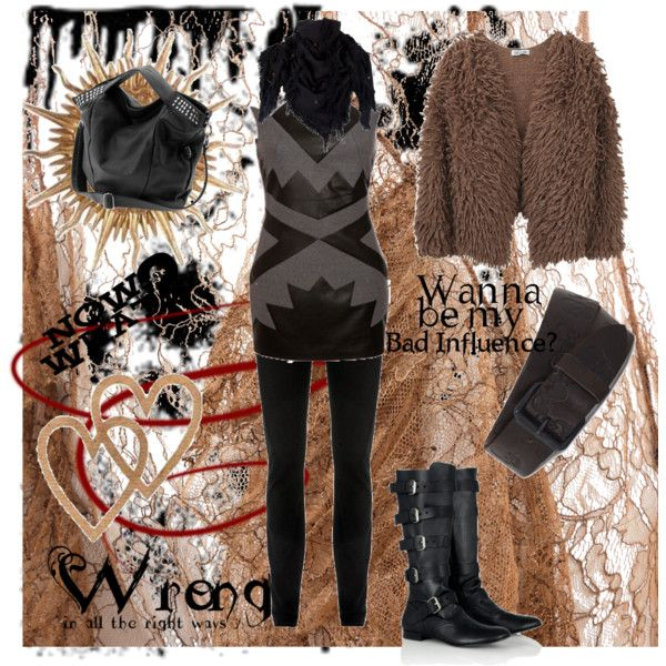Bad influence, created by magdalenacro.polyvore.com