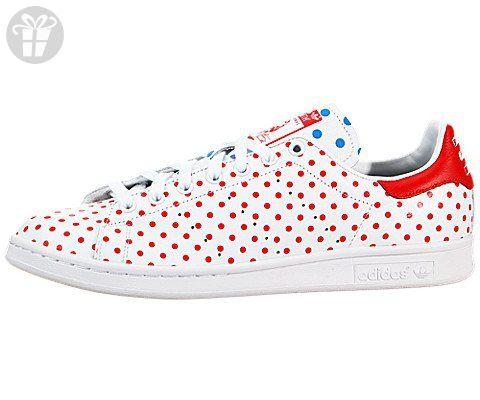 7cf72dcaf1025 Adidas Men's PW Stan Smith SPD Originals Ftwht/Red/Blubir Casual ...