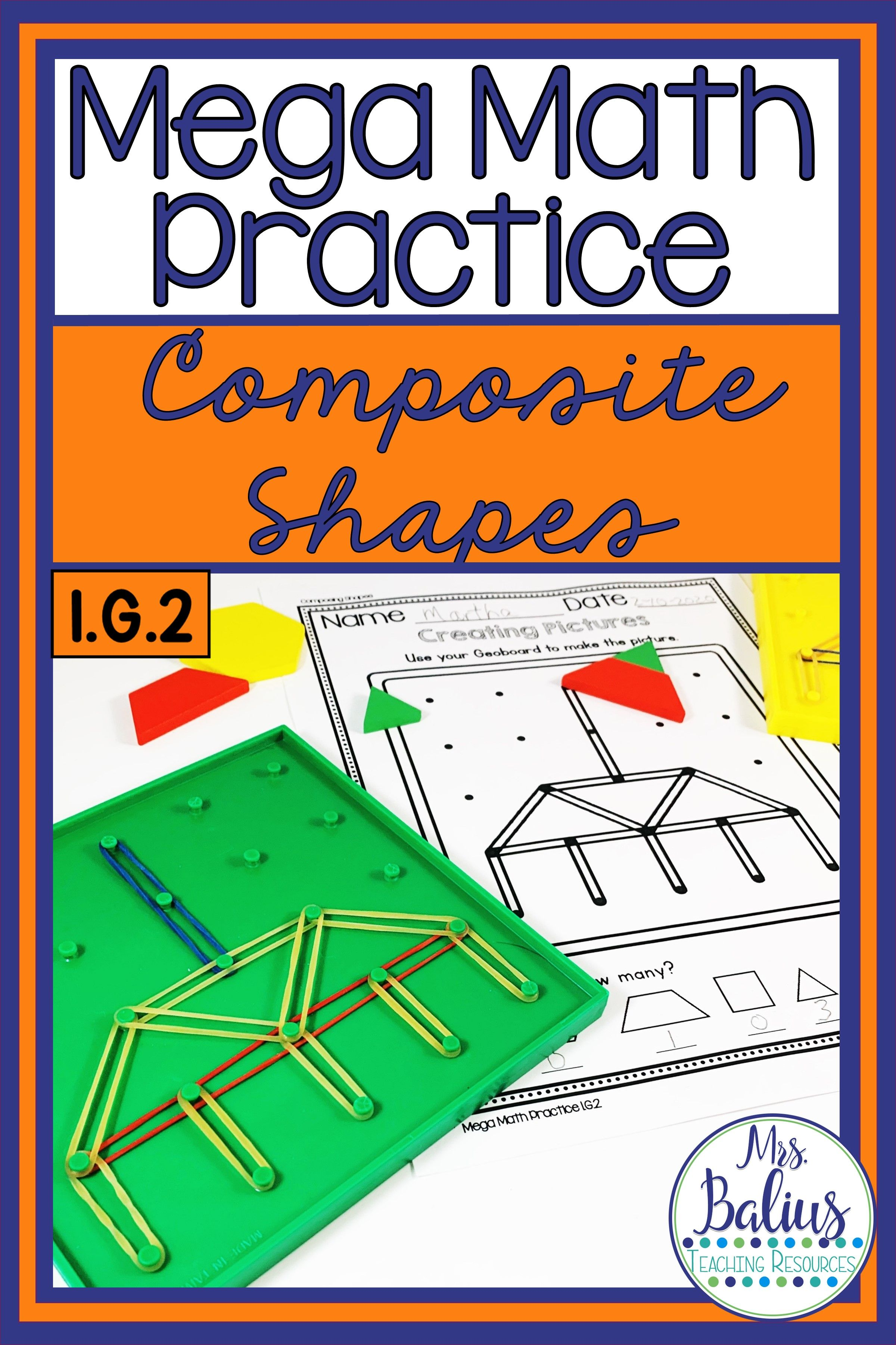 Composite Shapes 1 G 2 In