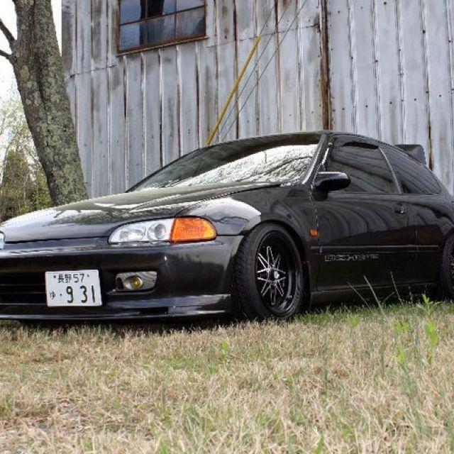 Eg Hatch Phantom Gray Honda Civic Coupe Honda Civic Hatchback Civic Hatchback