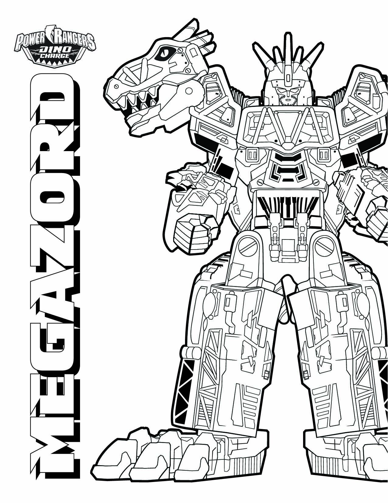 coloring pages megazord download them all httpwwwpowerrangerscom - Power Rangers Dino Coloring Pages