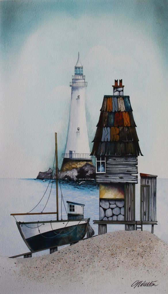 Red House Drawing: Gary WALTON - Aurora