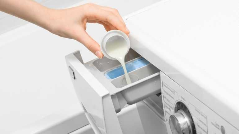 So werden Ihre Gardinen wieder weiß Waschmaschine