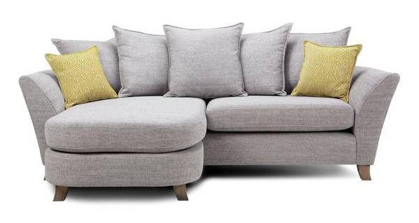 harlow 4 seater pillow back lounger dfs flat decor living room rh pinterest com