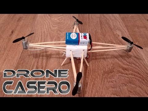 Como Hacer Un Drone En Casa How To Make Quadcopter At Home Make A Drone Youtube Inventos Caseros Tecnologicos Inventos Caseros Como Hacer