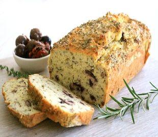 Low Carb Herb, Garlic & Olive Loaf | Recipe | Bread ...