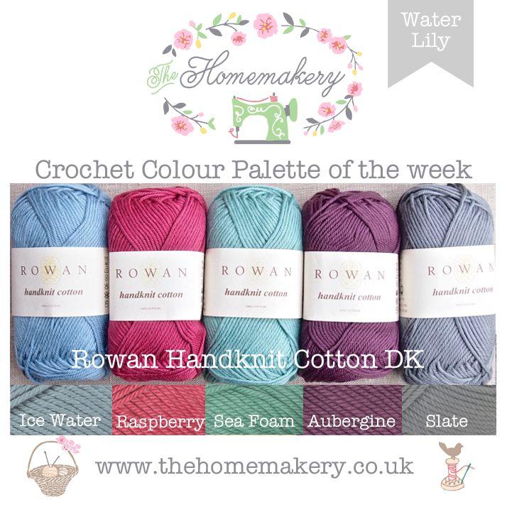 Water Lily - Crochet Colour Palette   Yarn color palettes ...