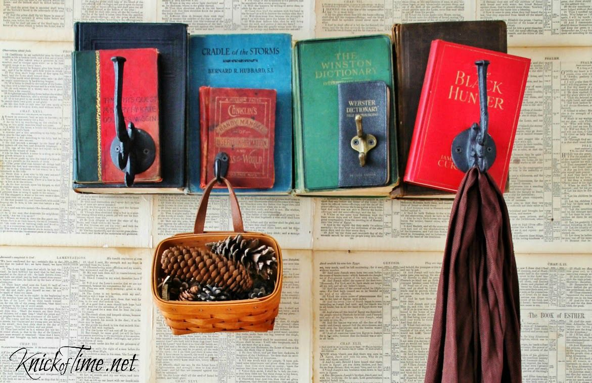 9 Smart Uses For Dusty Old Books Do It Diy Repurposed Books