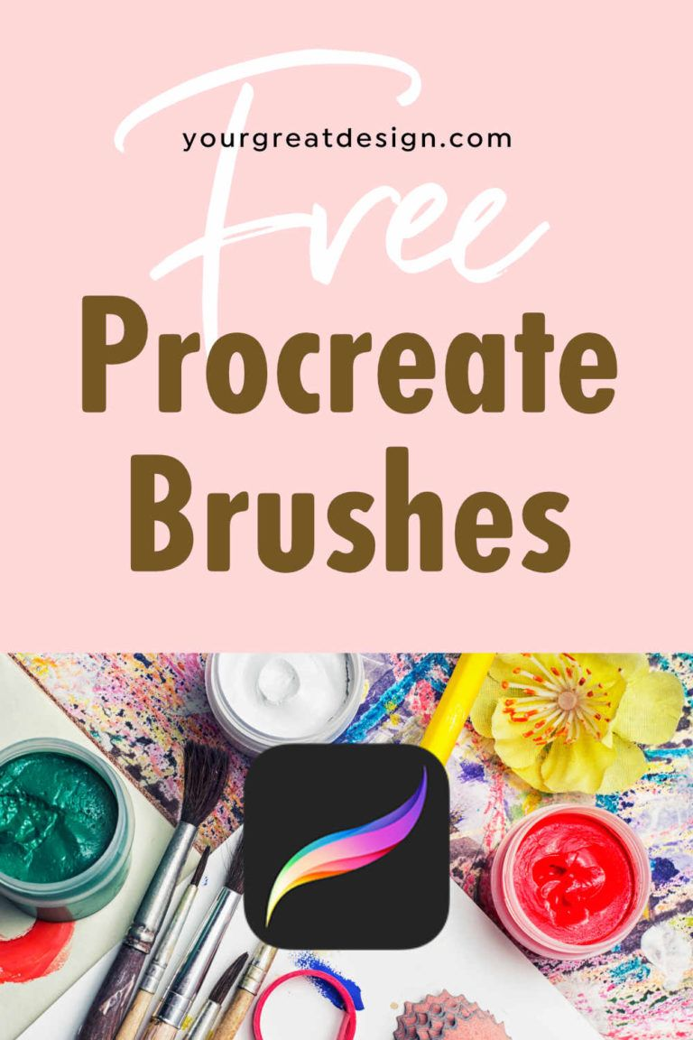 Free Procreate brushes - Ready to download and use