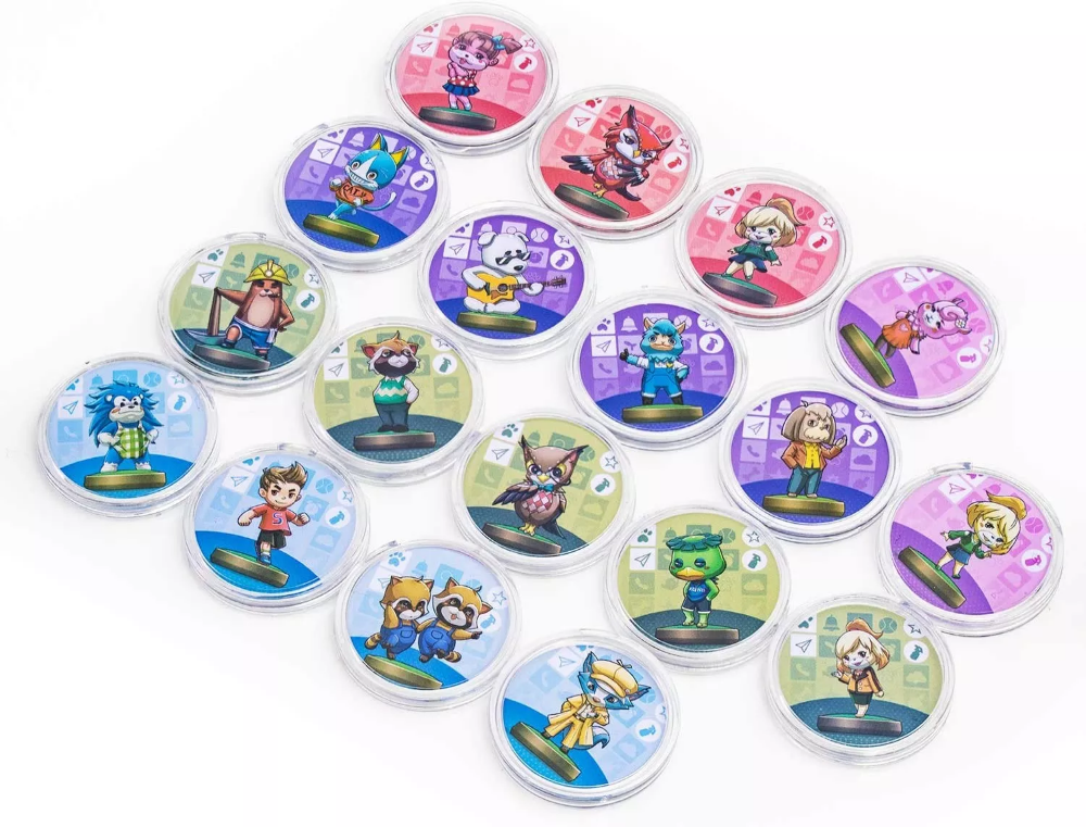NFC Tag Game Cards for Animal Crossing 18pcs Cards in