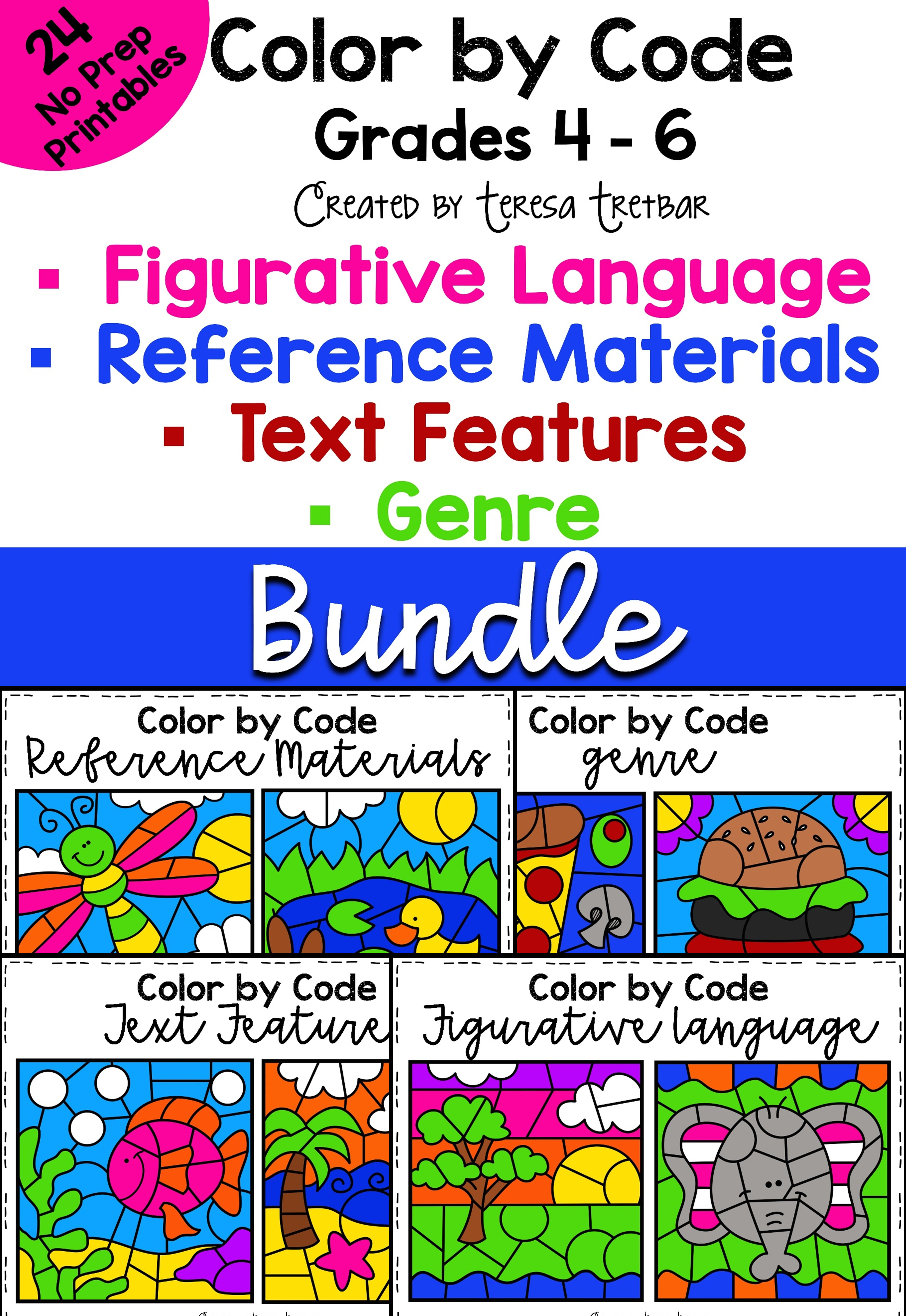 Figurative Language Genre Text Features Reference