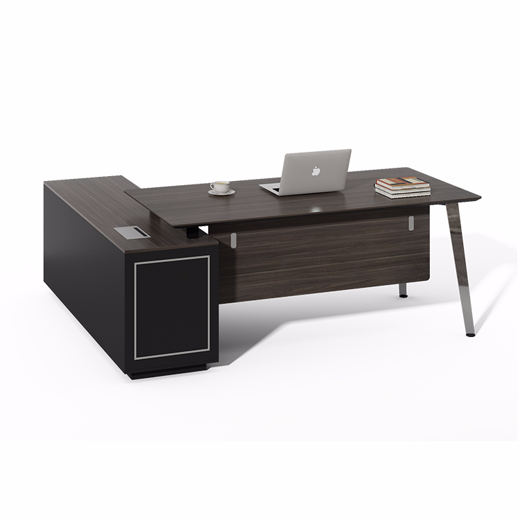 Cheap But High Quality Melamine L Shaped Executive Office