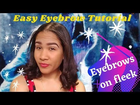 How I Do my Brows || How to define your brows || Beginner Eyebrow Tutorial