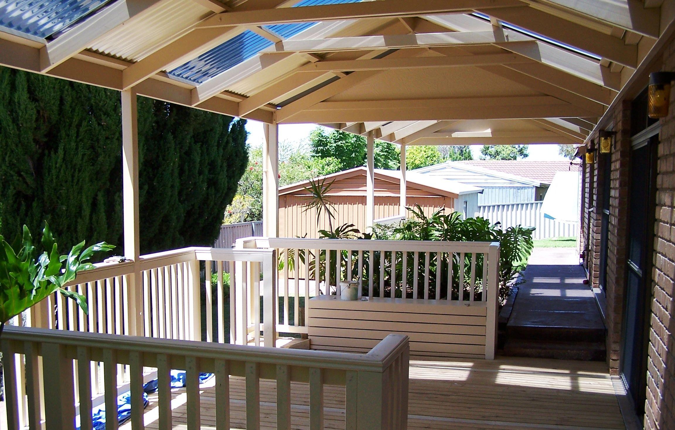 classic cream timber veranda