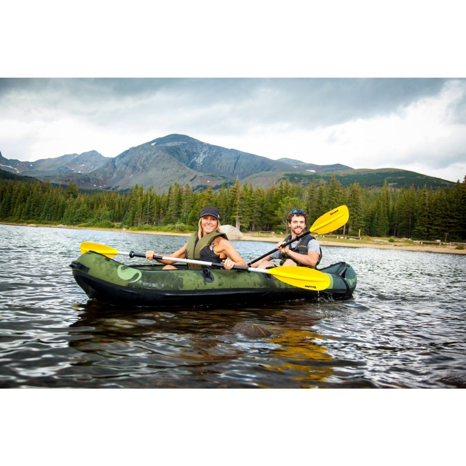 Amazon Com Coleman Colorado Tm 2 Person Fishing Kayak Sports