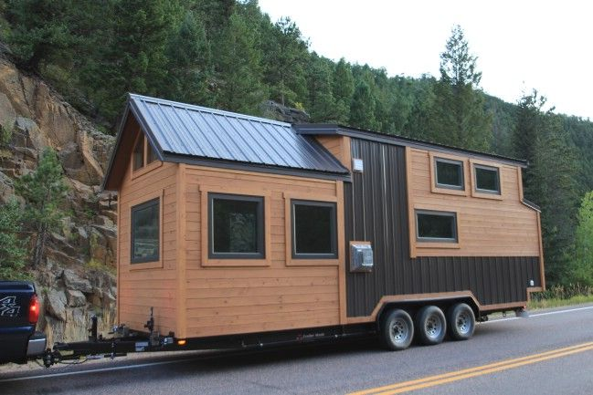SimBLISSity Tiny Homes in Colorado stellt ihr 26 'Monarch