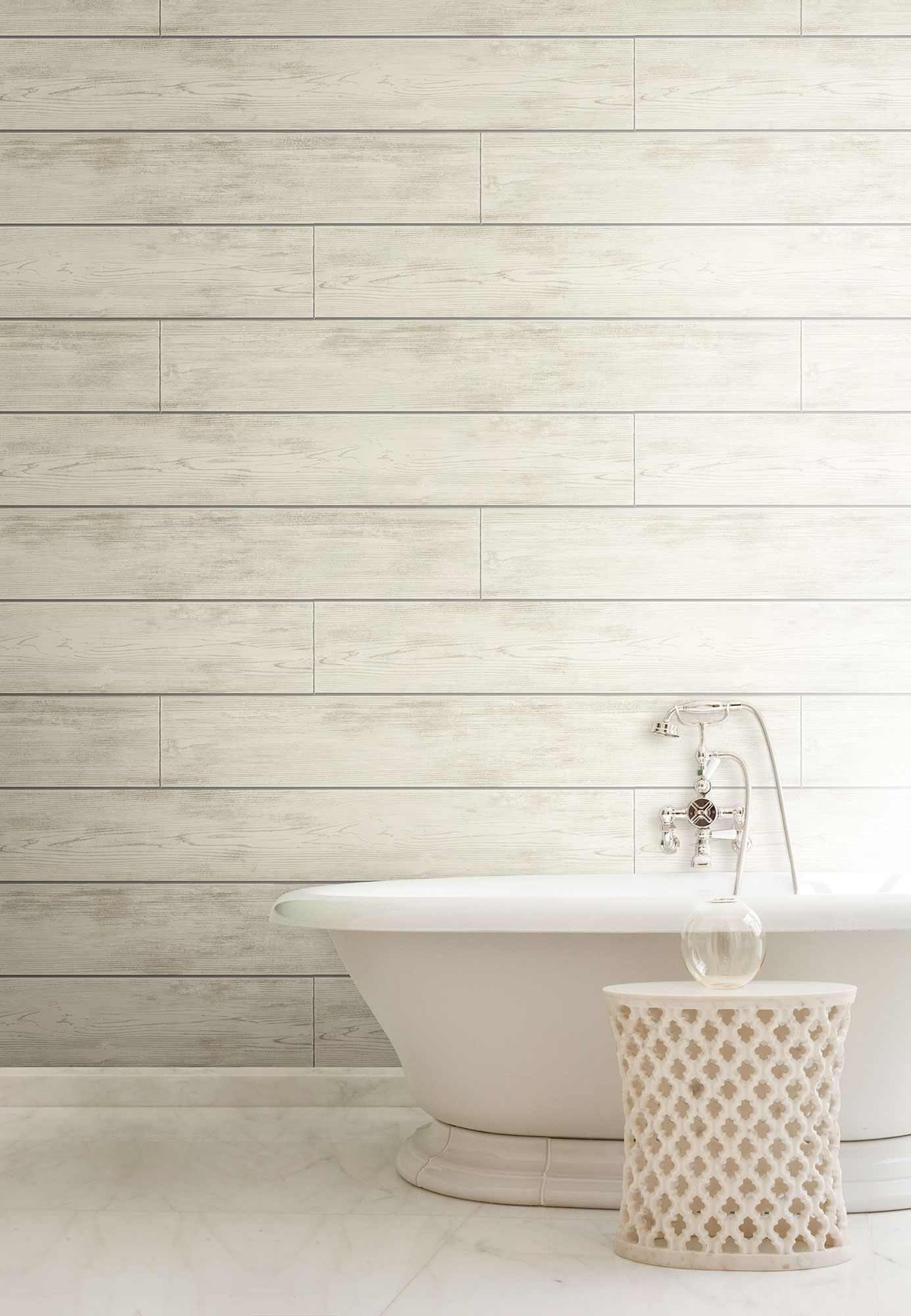 Magnolia Home Shiplap Wallpaper Warm Gray in 2020