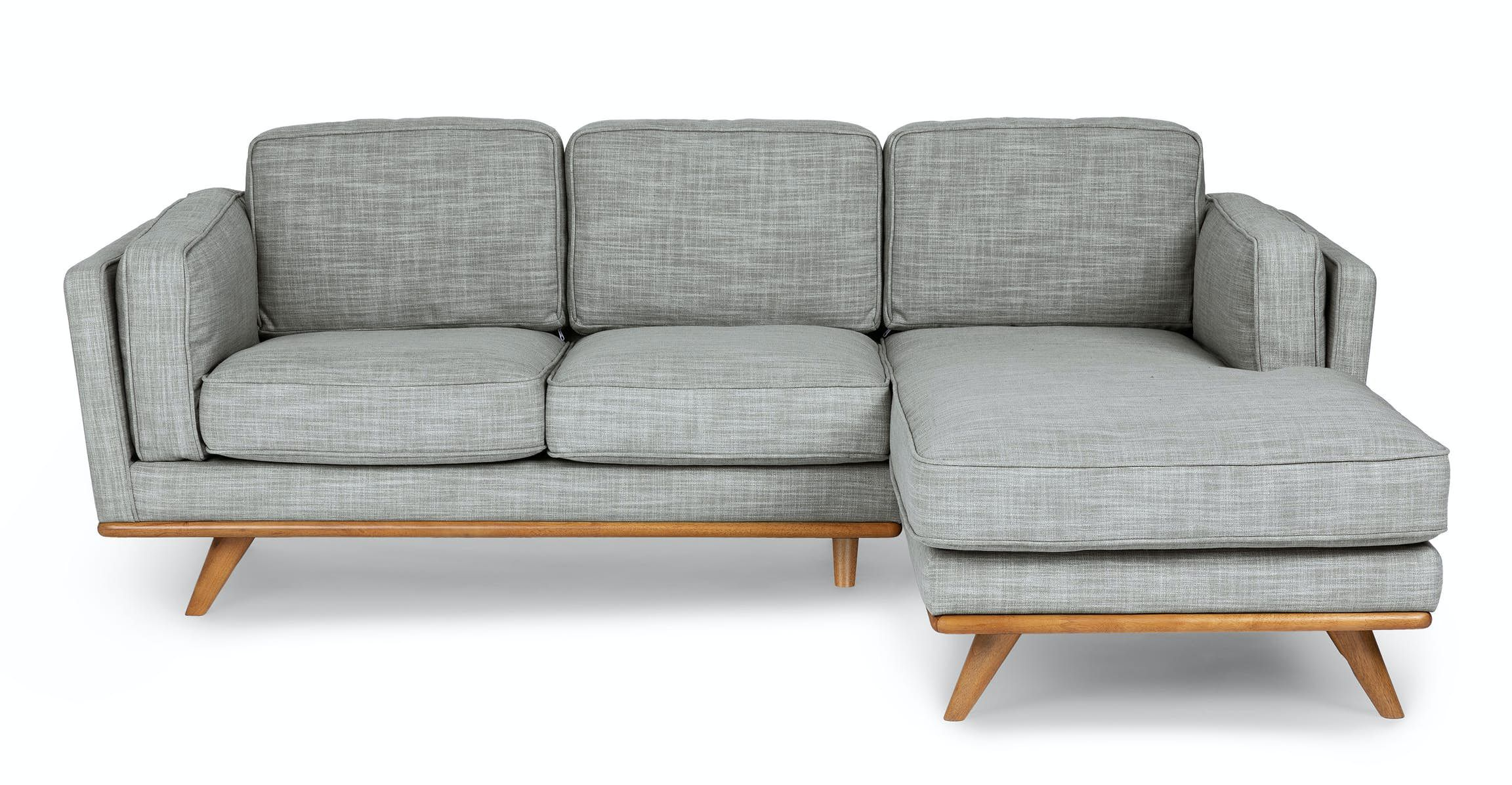 Timber Oxford Tan Corner Sectional Sectionals Article Modern Mid Century And Scandinavian Fur Sectional Scandinavian Design Living Room Corner Sectional
